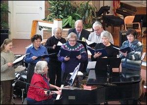 Choir at Erwin First