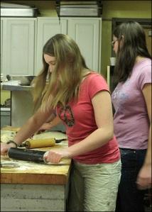 Pie-Baking at Erwin First United Methodist Church