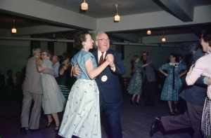 Square Dance in Friendship Hall, 1950's